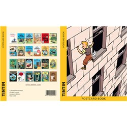SET DE 24 CARTES POSTALES TINTIN - COUVERTURE