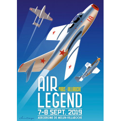 AFFICHE MEETING AIR LEGEND...