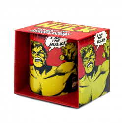 Marvel Comics - I Am Hulk Porcelaine Tasse - Mug - rouge