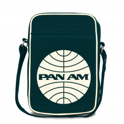 Sac Pan Am Logo - Pan American World Airways - Sac en bandoulière -  - SportSac - bleu foncé