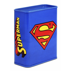 DC Comics - Superman Logo Tirelires - bleu