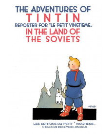 A4 Album UK - Hard Cover - Tintin in the Land of the Soviets