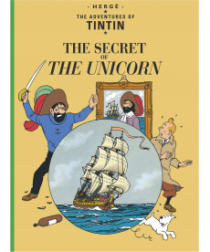 A4 Album UK - Soft Cover - The Secret of the Unicorn