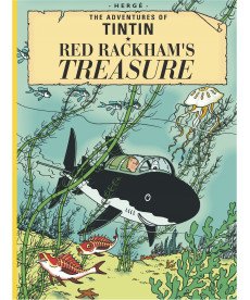 A4 Album UK - Soft Cover - Red Rackham's Treasure