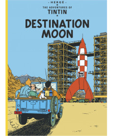 A4 Album UK - Soft Cover - Destination Moon